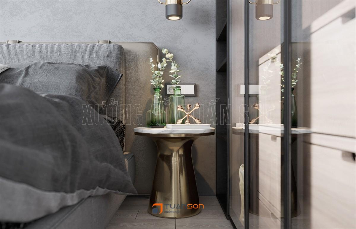 Thiết kế nội thất căn 2PN+2WC (62m2) Vinhomes Smart City