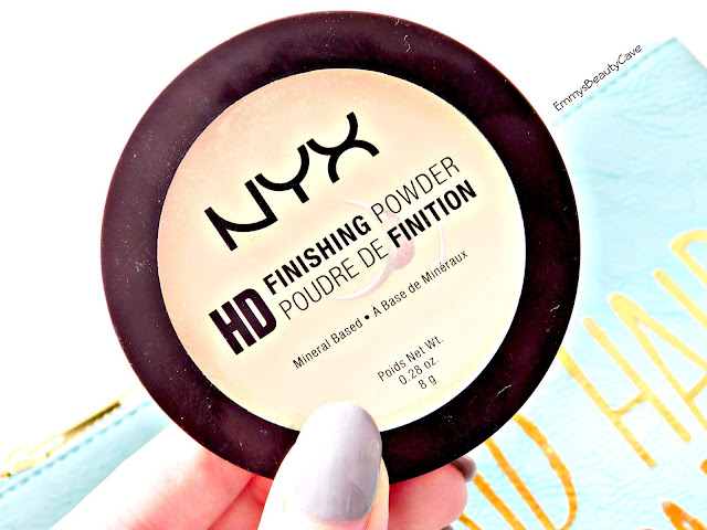 NYX HD Banana Finishing Powder