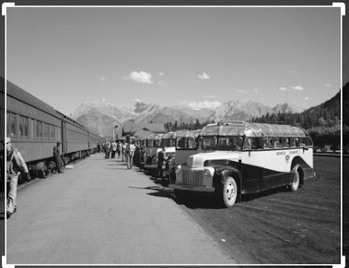 Banff Railway Station Alberta