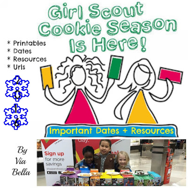 Troop 5823, Girl Scout Cookies, Cookie Season
