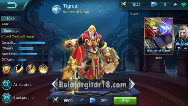 tank Mobile legends