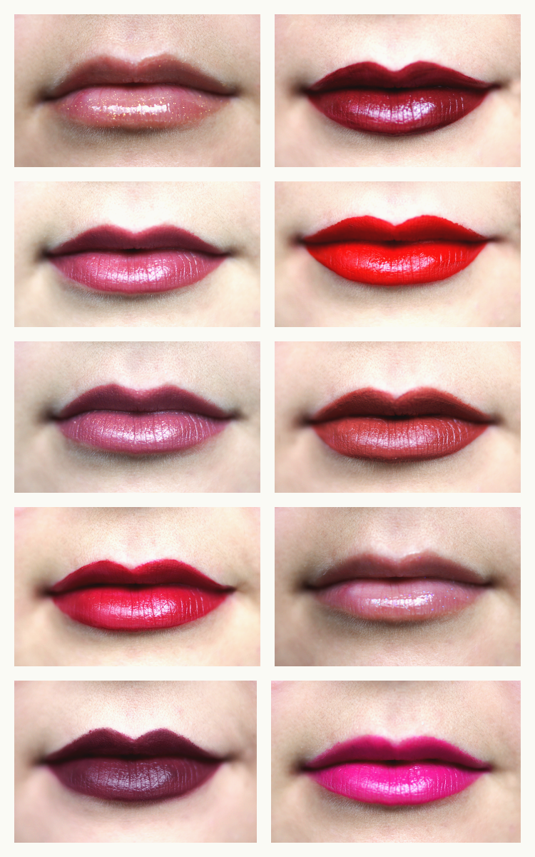 christmas-party-lips-makeup-swatches-2015
