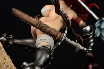 Erza Scarlet 1/6 The Kishi ver. de Fairy Tail - Orca Toys