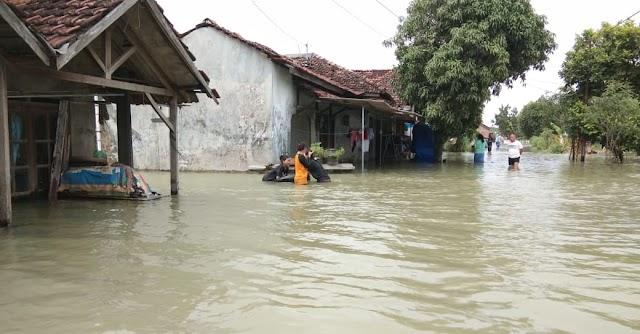 Dua Pekan 13 Desa di Kudus Terendam banjir