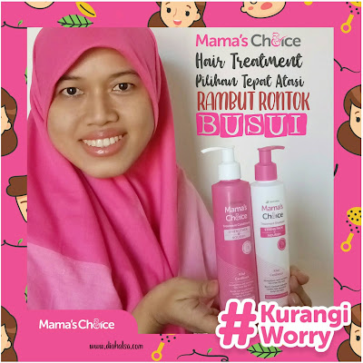 Review Mama's Choice Hair Treatment - diahalsa