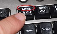 Cara Screenshot PC/Komputer dan Laptop Menggunakan PrintScreen