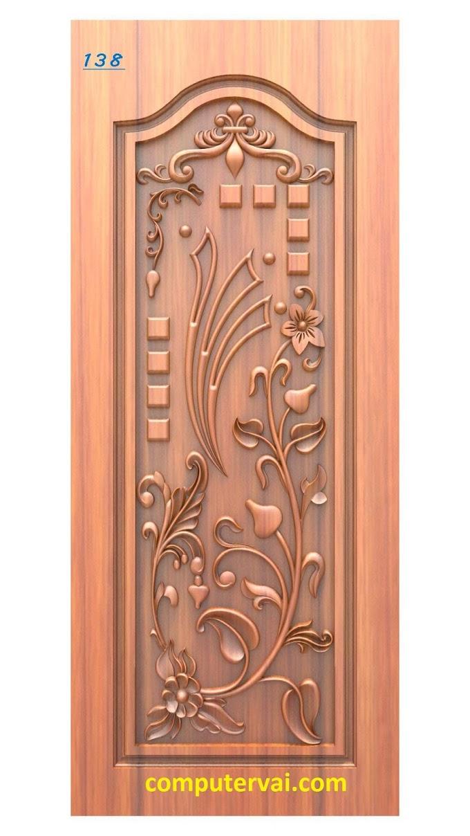 Most Popular 10 3d Door Cnc Cutting Design for CNC Wood Router Artcam rlf Files Free Download