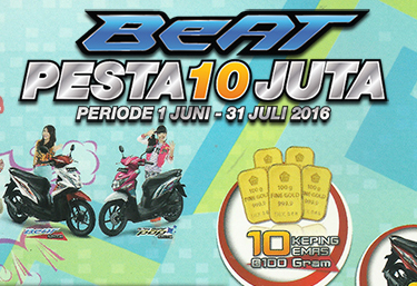 Pesta Honda BeAt 10 Juta