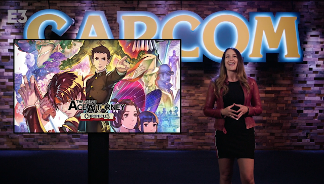 The Great Ace Attorney Chronicles presented CAPCOM E3 2021