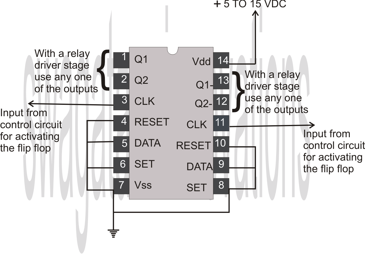Index 16 Basic Circuit Diagram Seekiccom Snap How To Test Clocked Circuits Photos On Pinterest Flip Flop Using Ic 4013