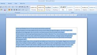 langkah-langkah Copy Paste dari Internet Ke Word Supaya Tetap Rapi