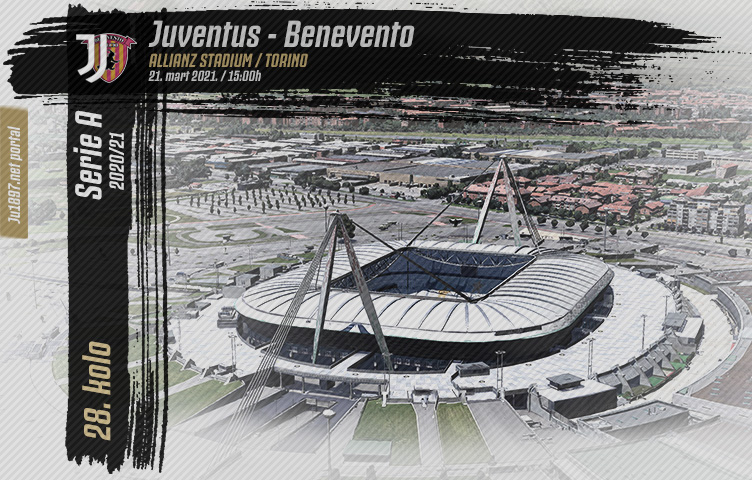 Serie A 2020/21 / 28. kolo / Juventus - Benevento, nedelja, 15h