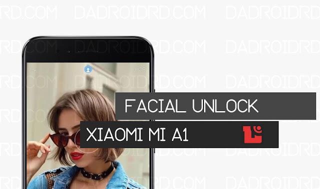 Cara membuat Facial Unlock Xiaomi Mi A1