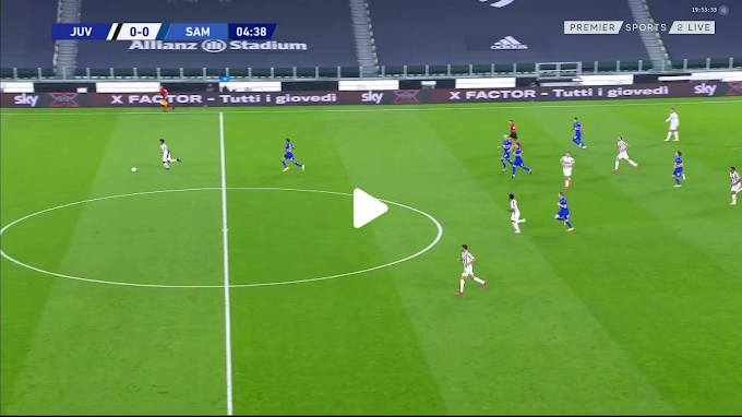 VIDEO: Juventus 3:0  Sampdoria /  Serie A,