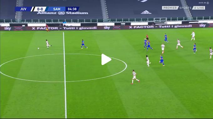 VIDEO: Juventus 3:0  Sampdoria /  Serie A,