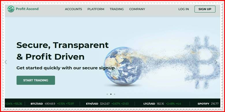 [ЛОХОТРОН] profitascend.com – Отзывы, развод? Компания Profit Ascend мошенники!