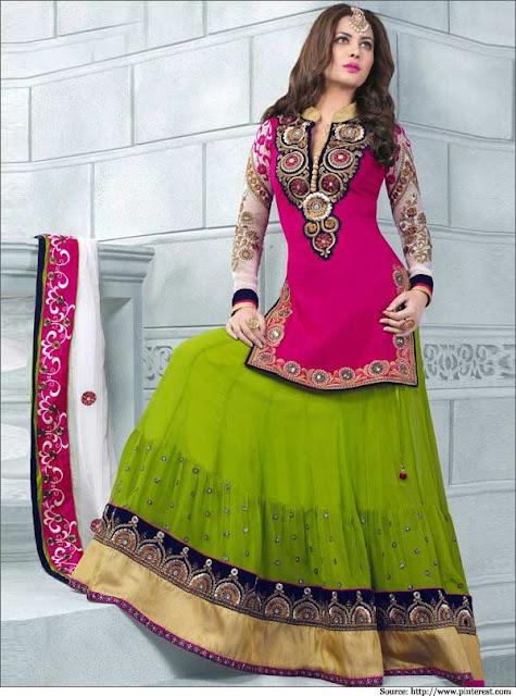latest-lehenga-saree-indian-blouse-designs-2016-17-for-women-10