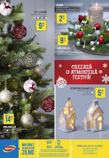 CATALOG PEPCO 23 - 29 noiembrie 2018 reduceri decoratiuni de Craciun