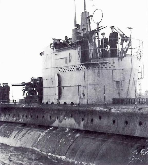 Italian submarine Enrico Tazzoli 9 March 1942 worldwartwo.filminspector.com