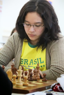 Resultado de imagem para larissa barbosa ichimura fotos xadrez