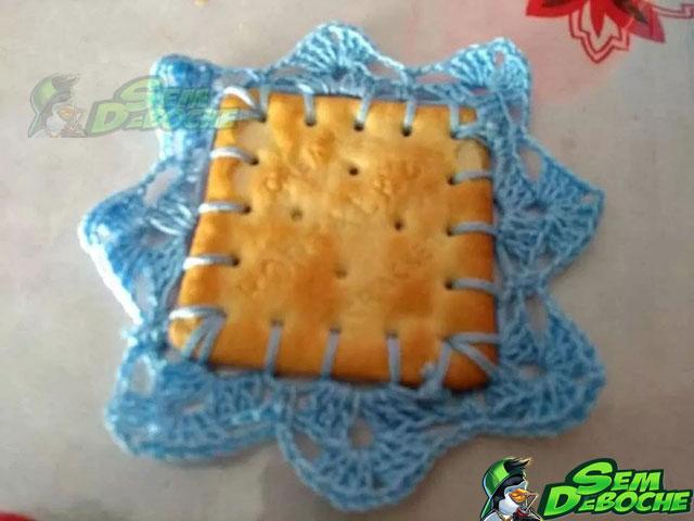 Vovó mandou um biscoitinho pra mim
