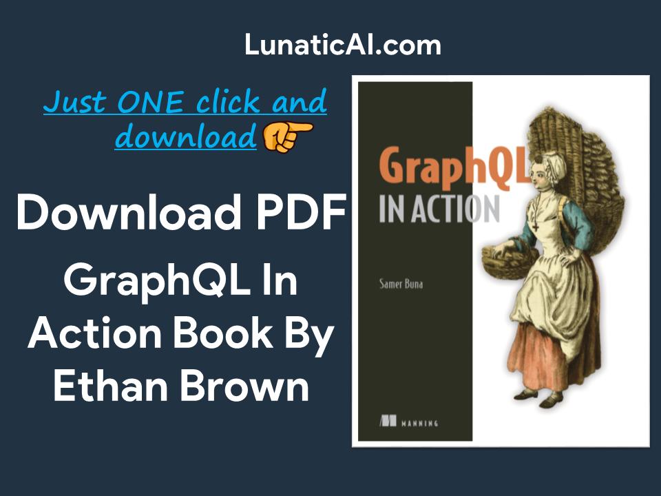 GraphQL in Action PDF