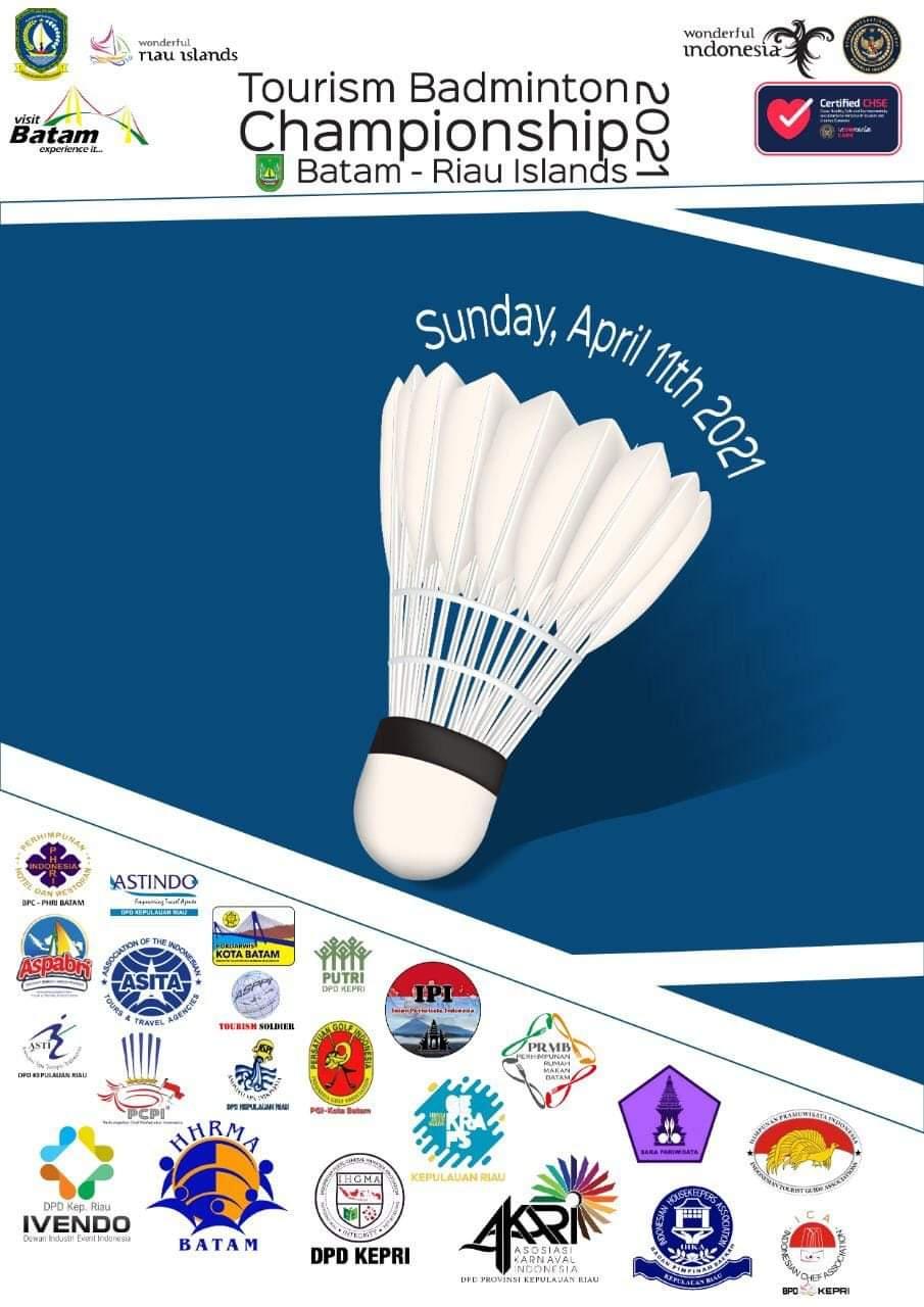 Sebanyak 22 Pelaku Pariwisata Mengikuti Tourism Associations Badminton Championship 2021