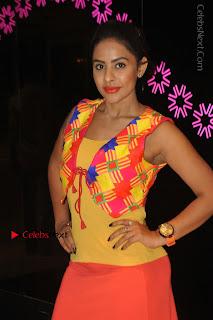 Telugu Actress Model Sri Reddy Latest Stills in Yellow Dress  0022.JPG