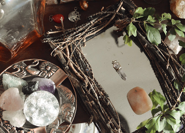 Espelho Rústico - Witch Craft Mirror DIY - Tumblr