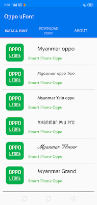 TOP 30 Unicode Font style For oppo and Realme