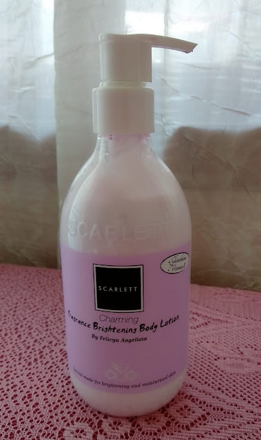 Scarlett Fragrance Brightening Body Lotion