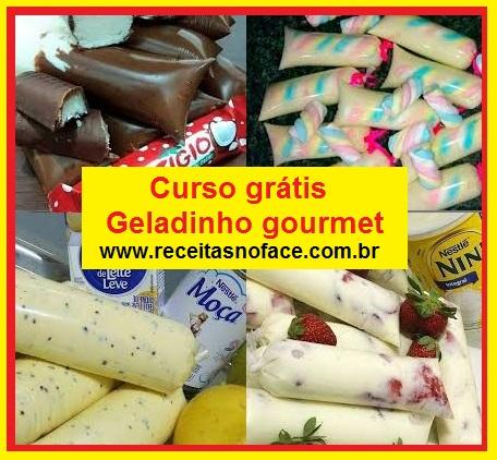 Renda Extra: Curso de Geladinho Gourmet Grátis