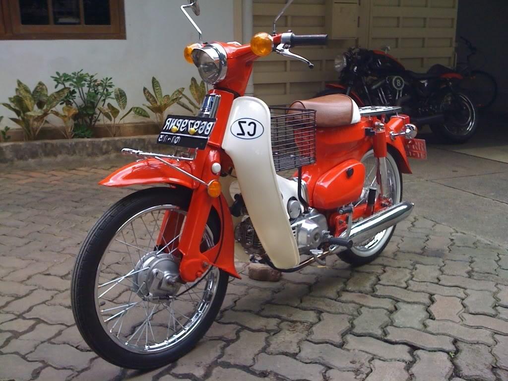 Dan Mengganti Mesin Yang Cocok Untuk Honda C70