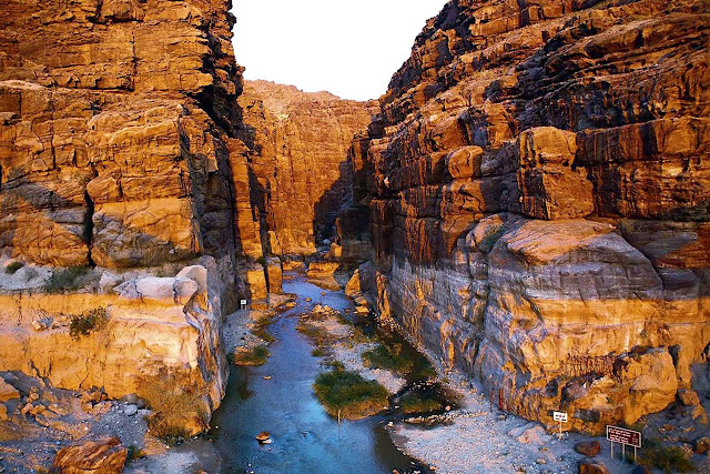 Cânion de Wadi Mujib - Jordânia