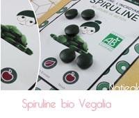 spiruline Ecocert  Vegalia