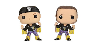 Hot Topic Exclusive The Young Bucks Pop! New Japan Pro Wrestling Bullet Club 2 Pack by Funko