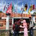 HMI Kuningan Tabur Bunga Depan Kantor KPU