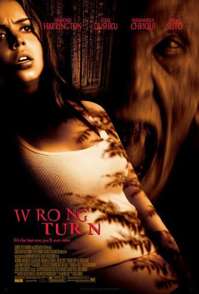 Poster Of Wrong Turn 2003 720p Hindi BRRip Dual Audio Full Movie Download