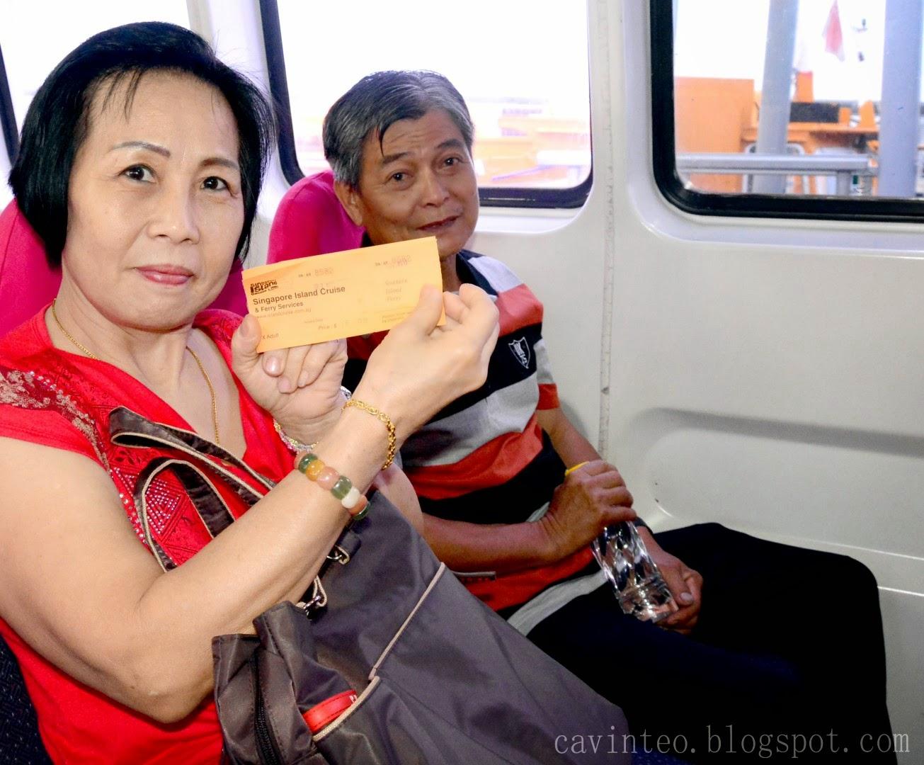 Kusu Island Ferry Ticket