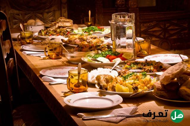 هل تعرف, ما هو أفضل إفطار في رمضان ؟