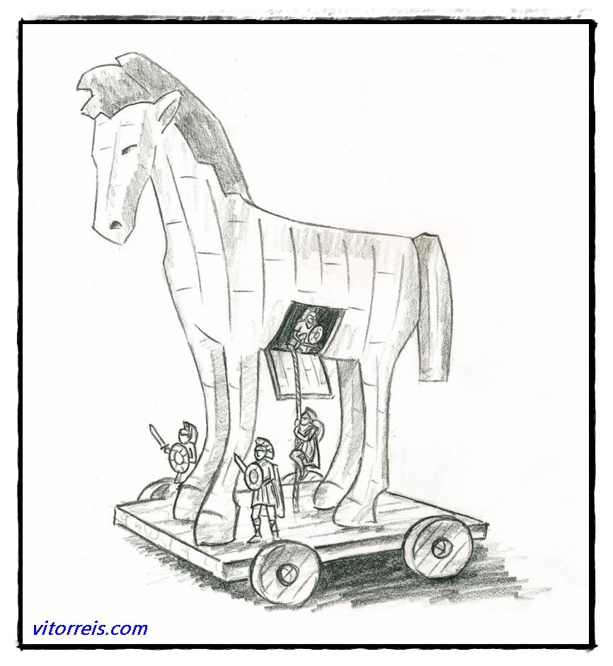Sketsa Kuda