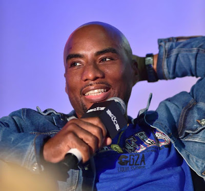 Jessica Gadsden's husband Charlamagne talking in an interview