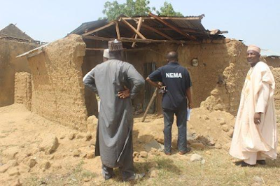 Photos: Two injured, 546 people and 91 houses affected in the aftermath of devastating windstorm in Zamfara State