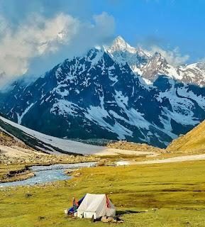 Camp at Pushtirang