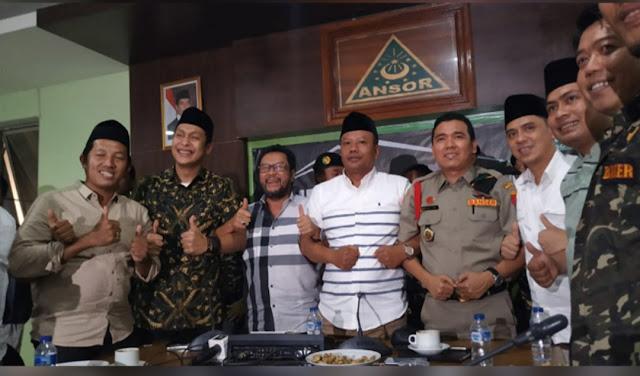 Kunjungi Kantor GP Ansor, Yorrys Klarifikasi Tuntutan Bubarkan Banser