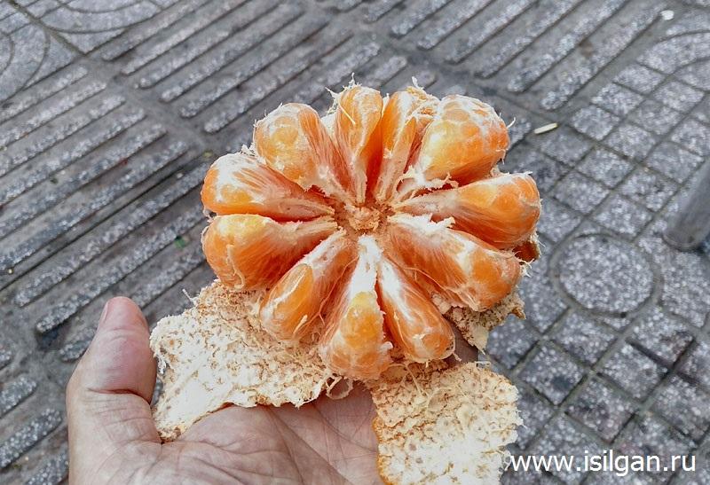 Подарок уличного торговца сэндвичами. Хошимин. Вьетнам