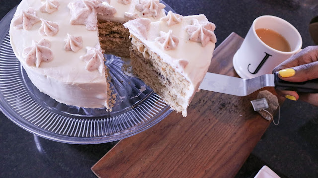Blackberry Earl Grey Cake