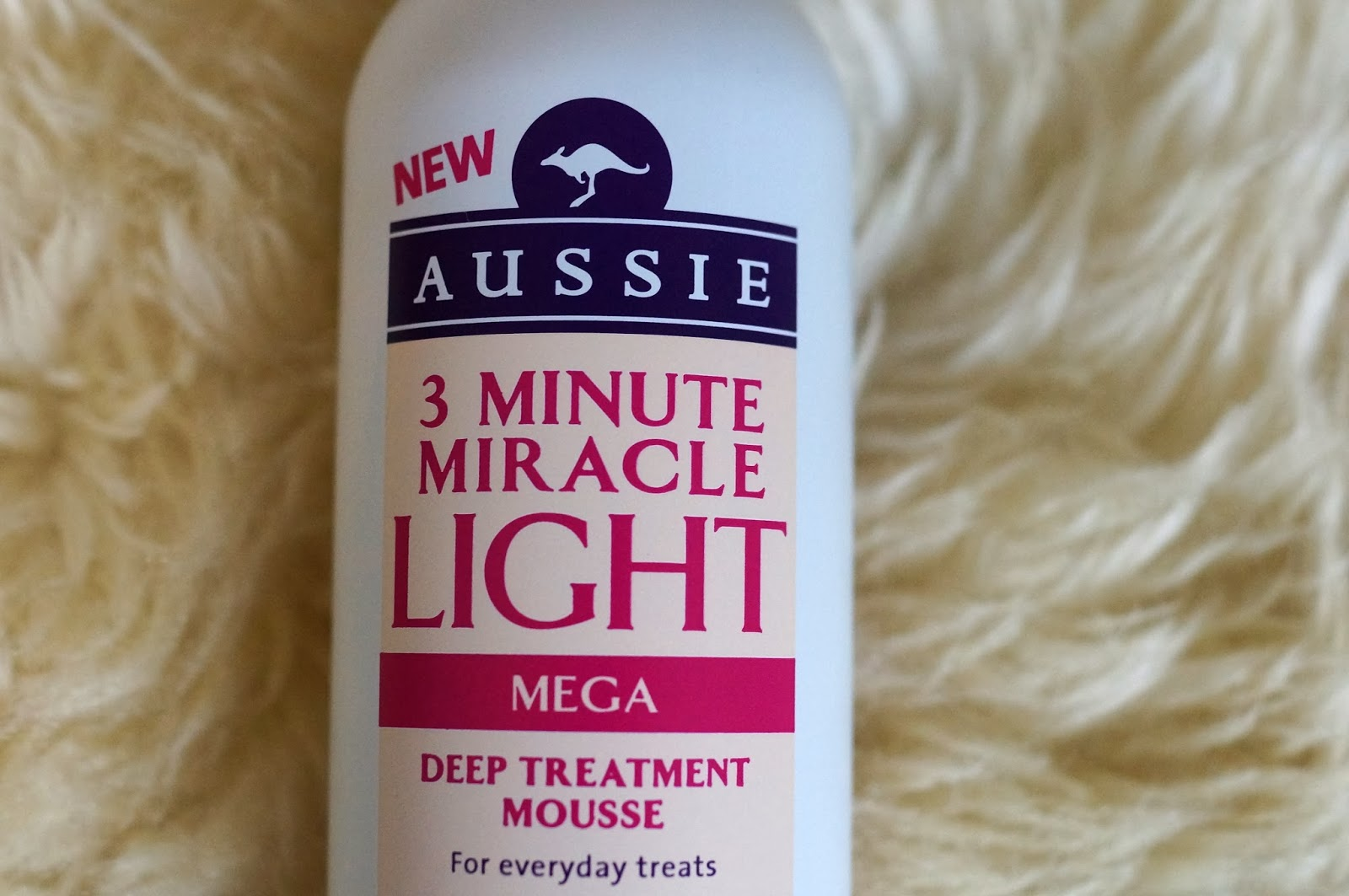 Aussie 3 Minute miracle Light Deep Treatment Mousse