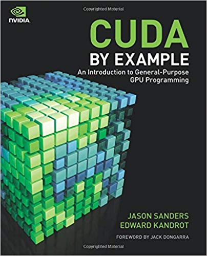 CUDA By Example front cover