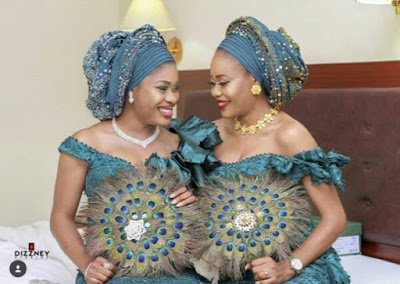Beautiful Photos From Traditional Wedding of Twin Sisters Who Married Same Day